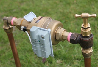Water meter with data logger