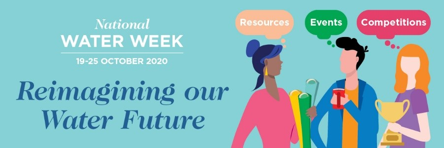 The 2020 National Water Week theme is reimagining our water future